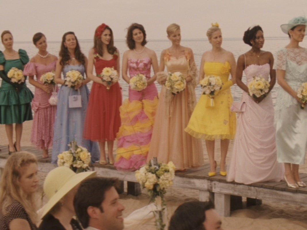 Yellow sequin dress 27 dresses movie