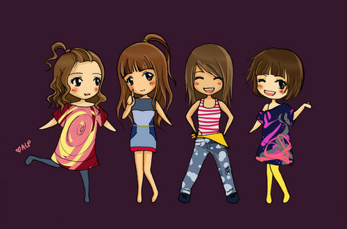 2NE1 Fan Art - yg-entertainment Fan Art