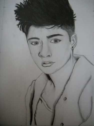 A Drawing Of Sizzling Hot Zayn (He Owns My 心 & Always Will) :) x