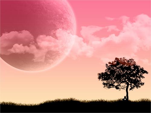 A गुलाबी World