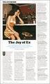A new/old magazine scan of Elizabeth!