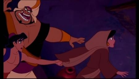 Princess jimmy, hunitumia karatasi la kupamba ukuta containing anime called Aladdin-Jafar Discovers his Diamond in the Rough