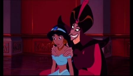 Aladdin-Jasmine Confronts Jafar