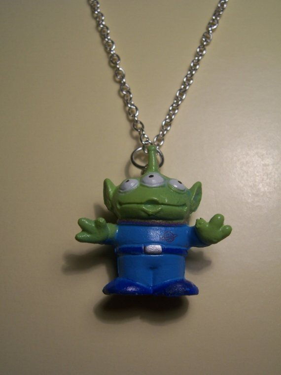 aliens from toy story. Alien Necklace - Toy Story