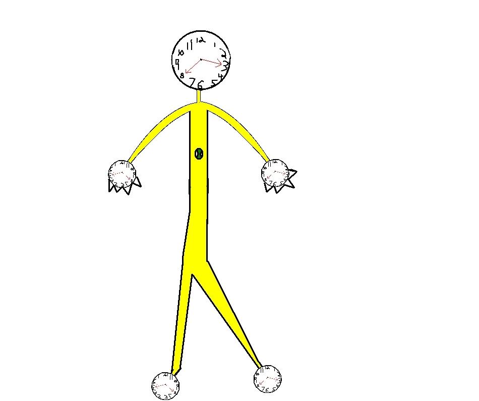 An ailen i drew help me name him! (about him in description)