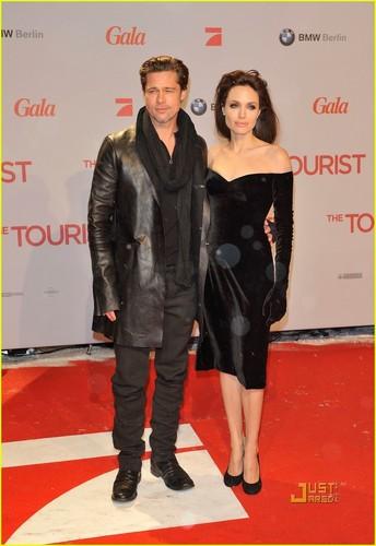 Angelina & Brad @ The Tourist Berlin Premiere