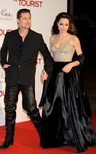 Angelina @ The Tourist Madrid Premiere
