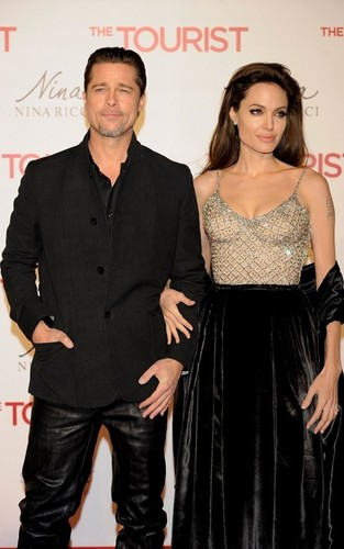 Angelina @ The Tourist Madrid Premiere
