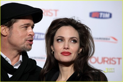 Angelina @ The Tourist Rome Premiere