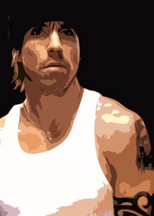 Anthony Kiedis by funkycanvasart