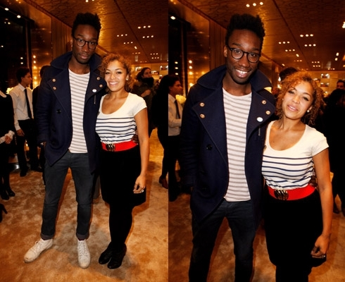 Antonia Thomas and Nathan Stewart-Jarett
