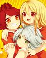 Aphrodi, Nagumo e Suzuno 1