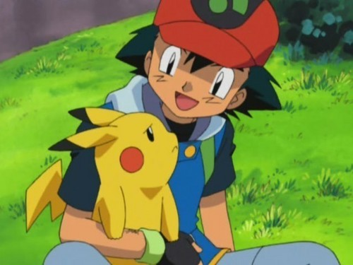 Ash Ketchum achtergrond with anime entitled Ash and Pikachu