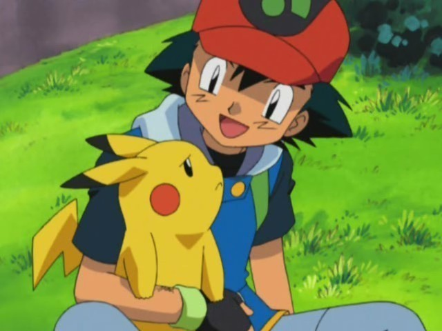 Ash Ketchum Ash and PikachuPokemon Pikachu And Ash