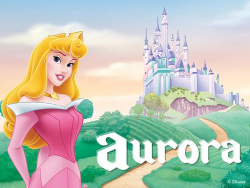 Princess Aurora achtergrond entitled Aurora
