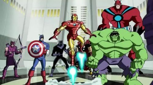 Avengers: Earth's Mightiest ヒーローズ 壁紙 called Avengers