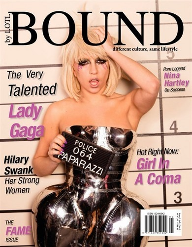 Lady Gaga images BOUND Magazine wallpaper and background photos