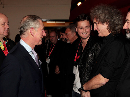Backstage: The Prince's Trust Rock Gala 2010