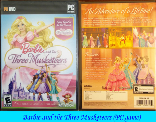 Barbie Three Musketeers (PC game)