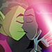 Beast Boy and Raven (From Teen Titans)