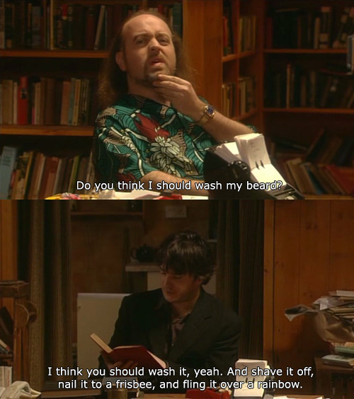 Black Books Images I Should Wash My Beard Wallpaper And