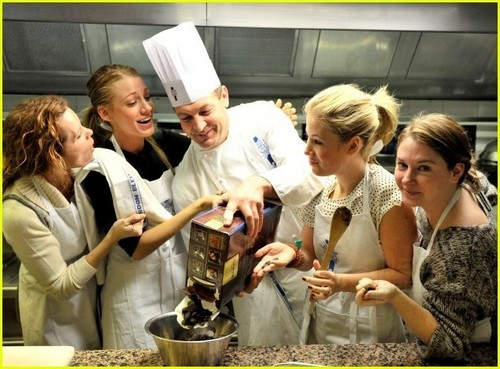 Blake Lively at Le Cordon Bleu