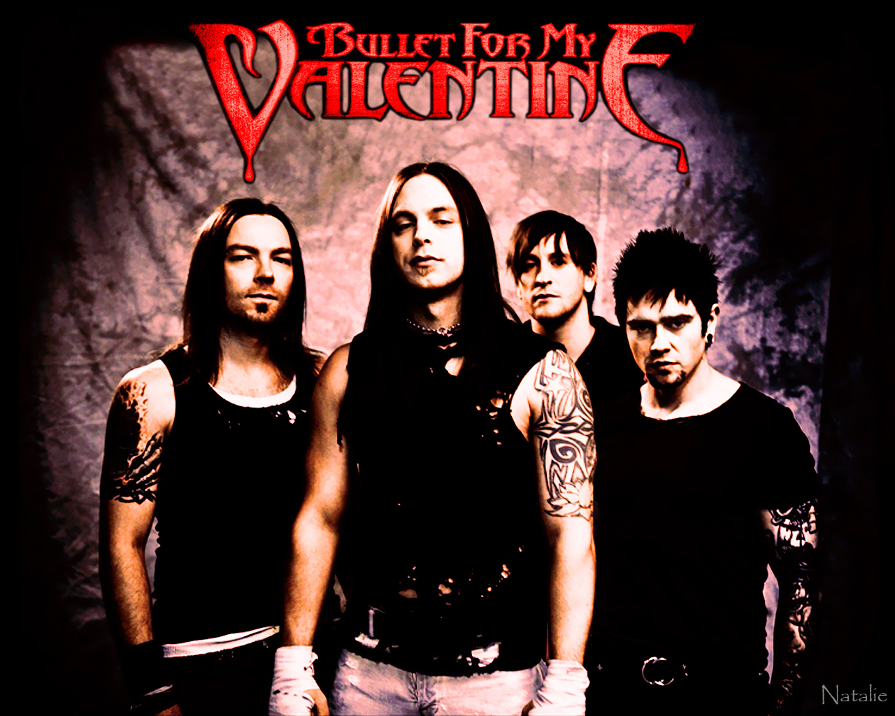 bullet for my valentine band pics