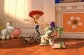 Buzz and Jessie's dance - jessie-toy-story screencap