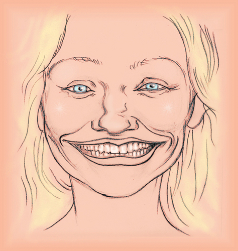 Cameron Diaz and Her Enormous Smile - cameron-diaz Fan Art