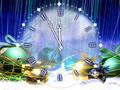giáng sinh Clock
