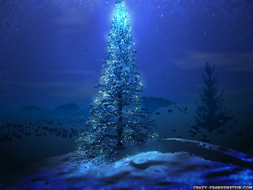Christmas wallpaper entitled Christmas Tree