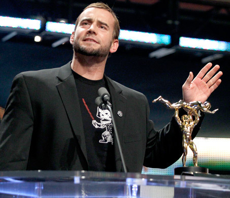 "Cm Punk - ""The Despicable Me Award"" - Slammy Awards"