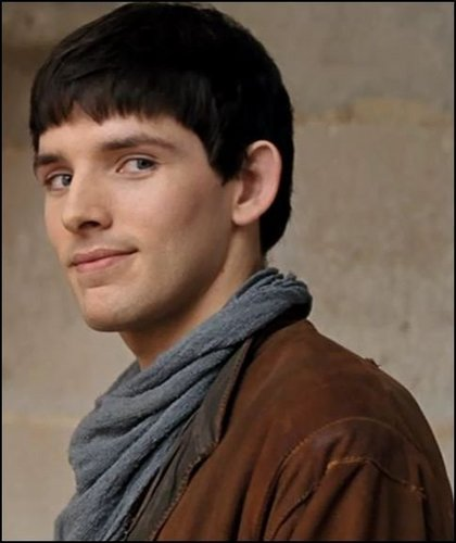 Colin morgan Hintergrund possibly with a portrait titled Colin morgan
