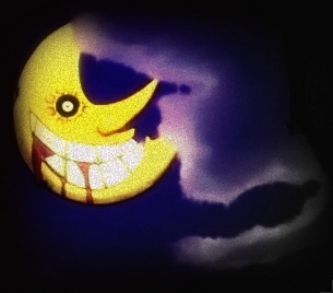 Creepy-ass Moon from Soul Eater