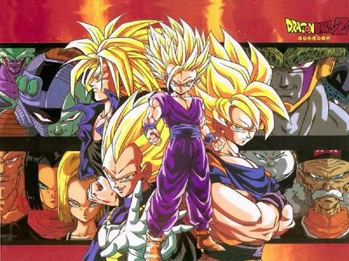 dragon ball z wallpaper possibly containing anime entitled DBZ