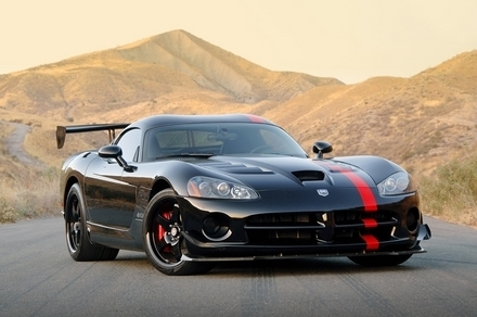 DODGE viper ACR coupe, kup