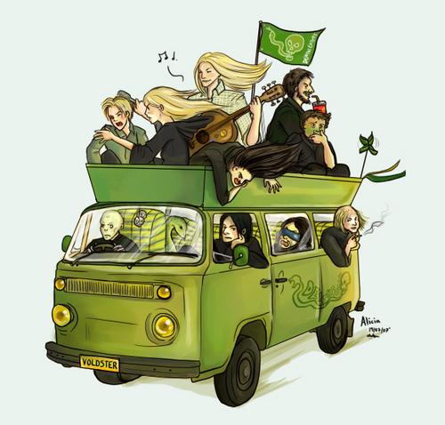 Death Eaters Minibus