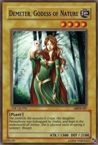 Demeter Card