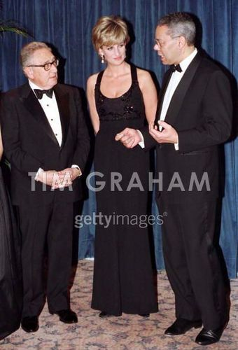 Diana And Henry Kissinger