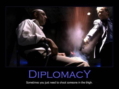 Diplomacy - 24 Fan Art