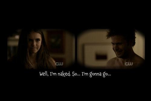 Elena & Alaric 2x10