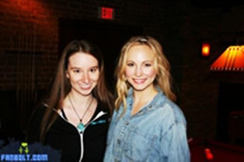FanBolt's 'Vampire Diaries' Set Visit