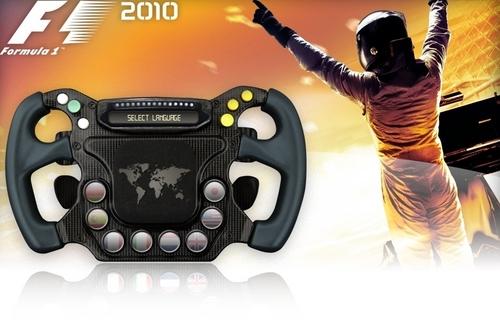 Formula 1 2010 Game kertas dinding