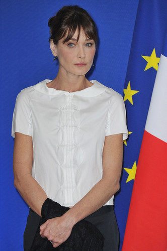 French President Nicolas Sarkozy And Carla Bruni-Sarkozy Visit India - jour 4