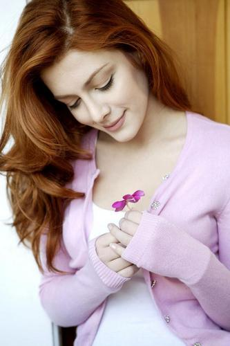 Elena Satine پیپر وال containing a portrait called Fun Elena