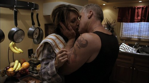 Sons Of Anarchy wallpaper probably with a spatula, a stove, and an egg yolk entitled Gemma & Clay
