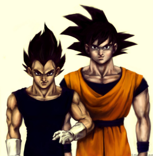 गोकु and Vegeta
