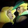 Green ARROW/アロー and Black Canary (From League Unlimited)
