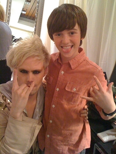 Greyson and Justin from SemiPrecious Weapons