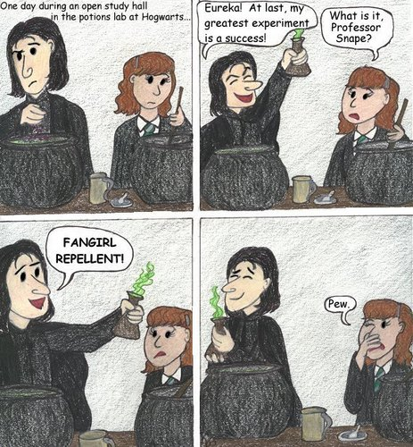 Harry Potter fangirls